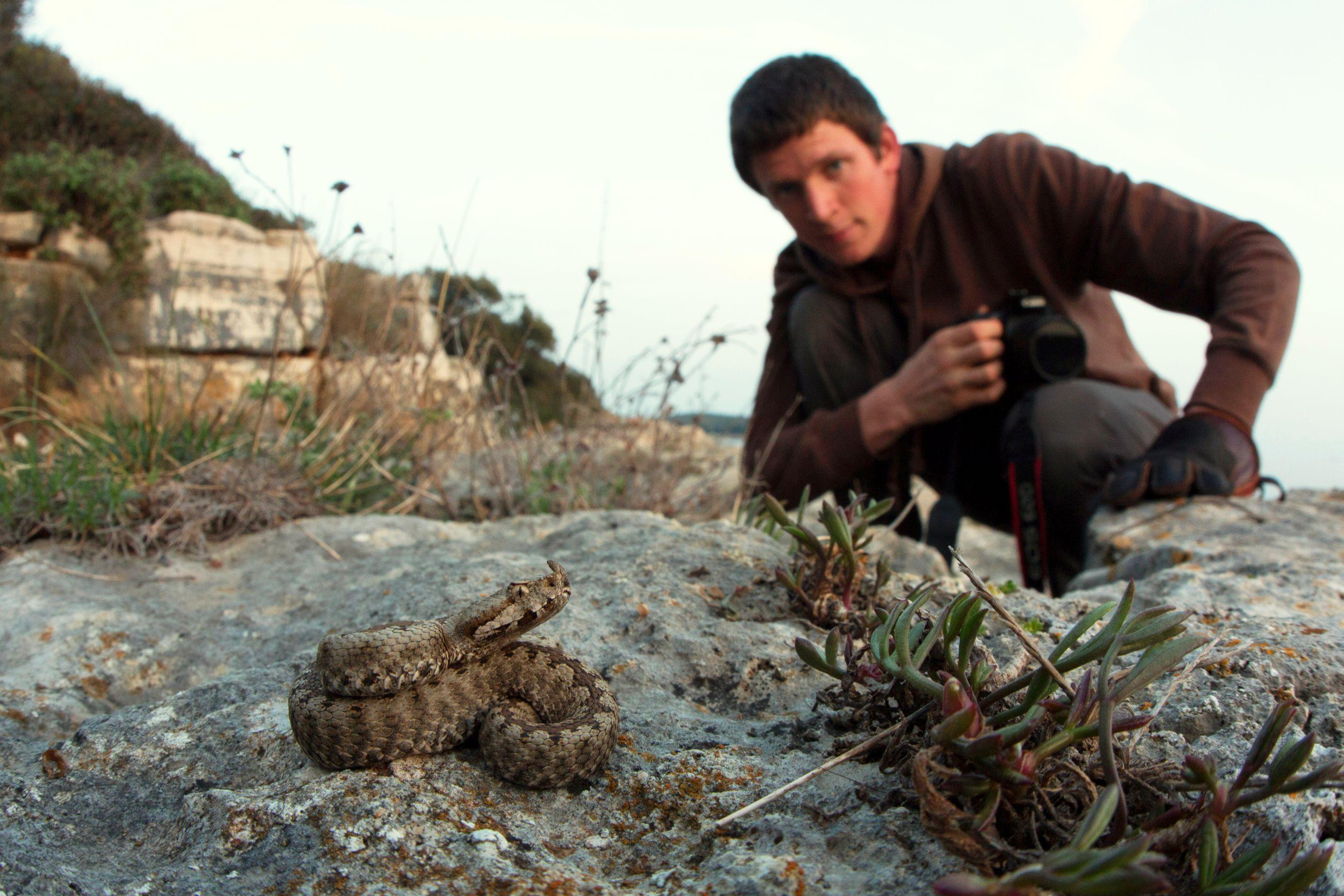 Martin Ertner se specializuje na focení plazů ve volné přírodě