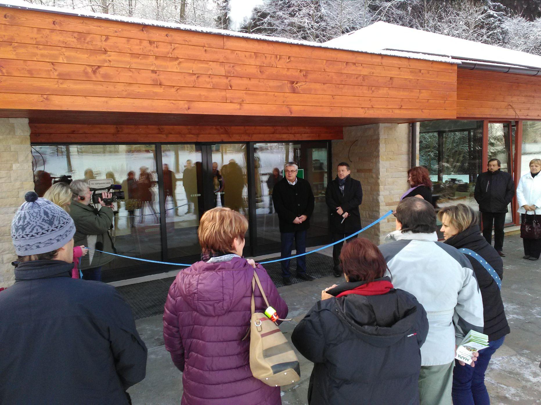 Adršpach otevřel nové infocentrum u skalního okruhu