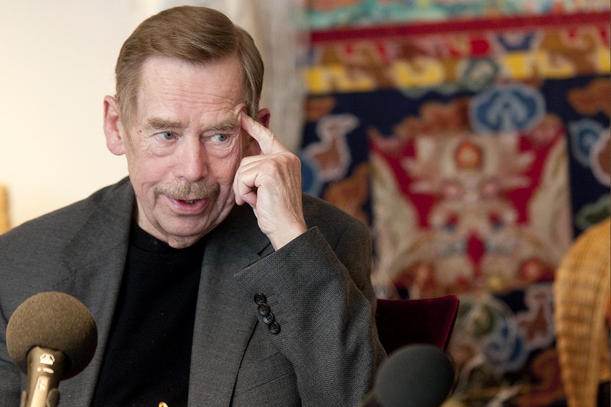 Bývalý prezident Václav Havel porovnat prezidentskou funkci s povoláním režiséra