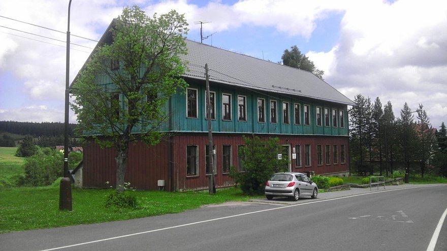 Škola v Orlickém Záhoří v Orlických horách