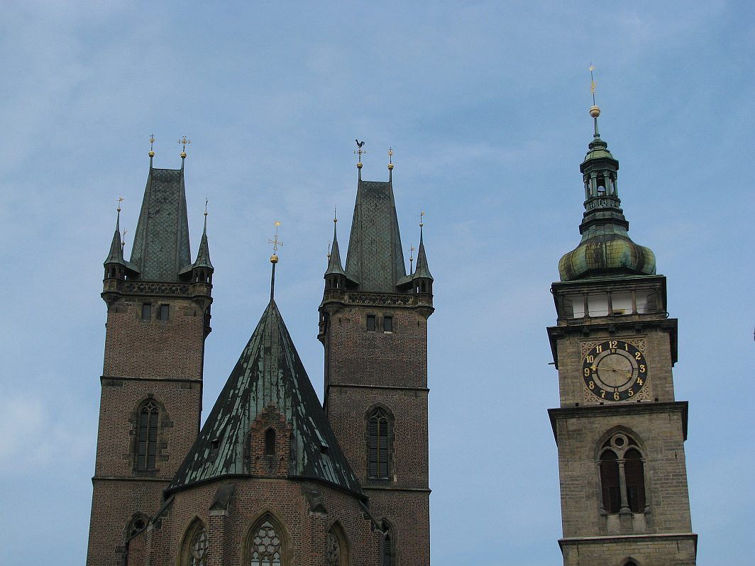 Katedrála a Bílá věž v Hradci Králové