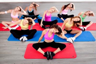 Cvičení, pilates, fitness