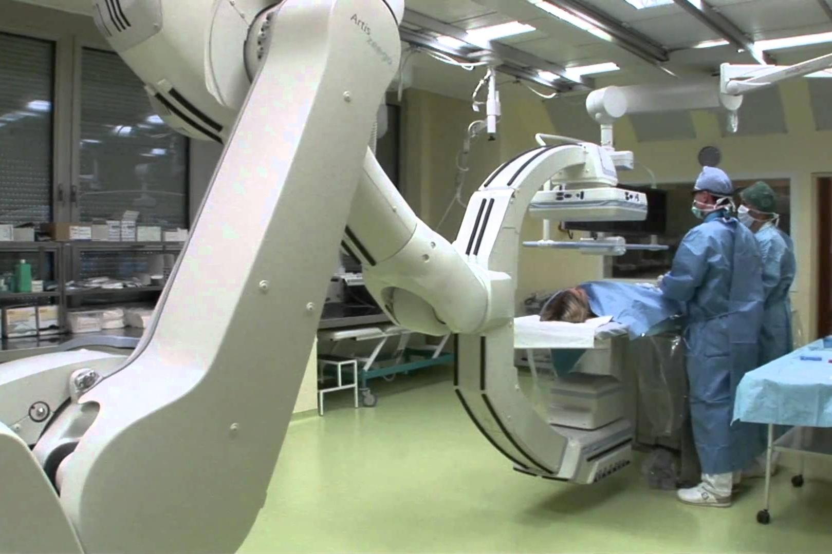 Intervenční radiologie. Ilustrační foto