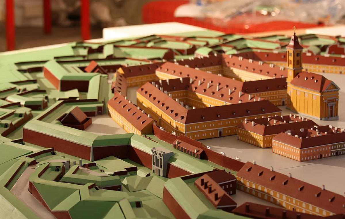 V Josefově si můžete prohlédnout model tohoto pevnostního města v poměru 1 : 300