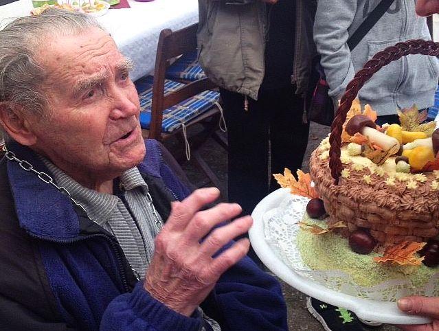Čeněk Petřík oslavil 105. narozeniny