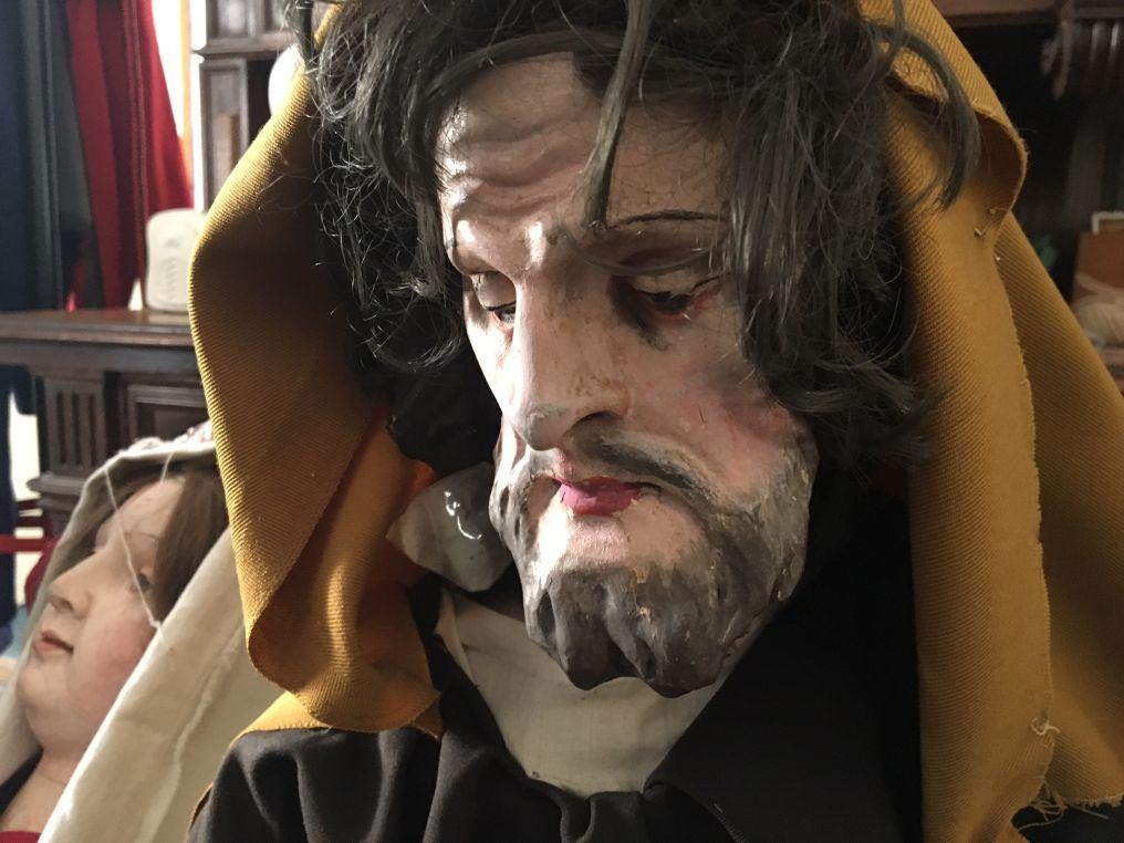 Jediný dochovaný jezuitský betlém v Česku se vrátil do Žirče
