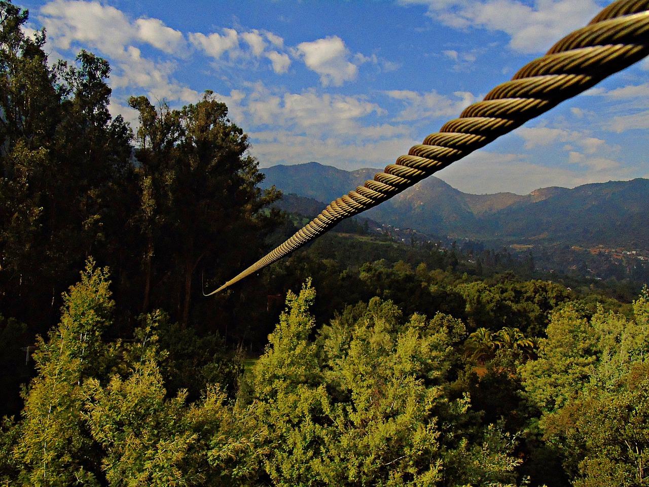 Ocelové lano slouží lanovce (ilustrační foto)