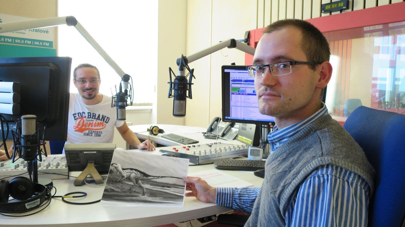 Mgr. Michal Matějka se věnuje popularizaci geologie a paleontologie
