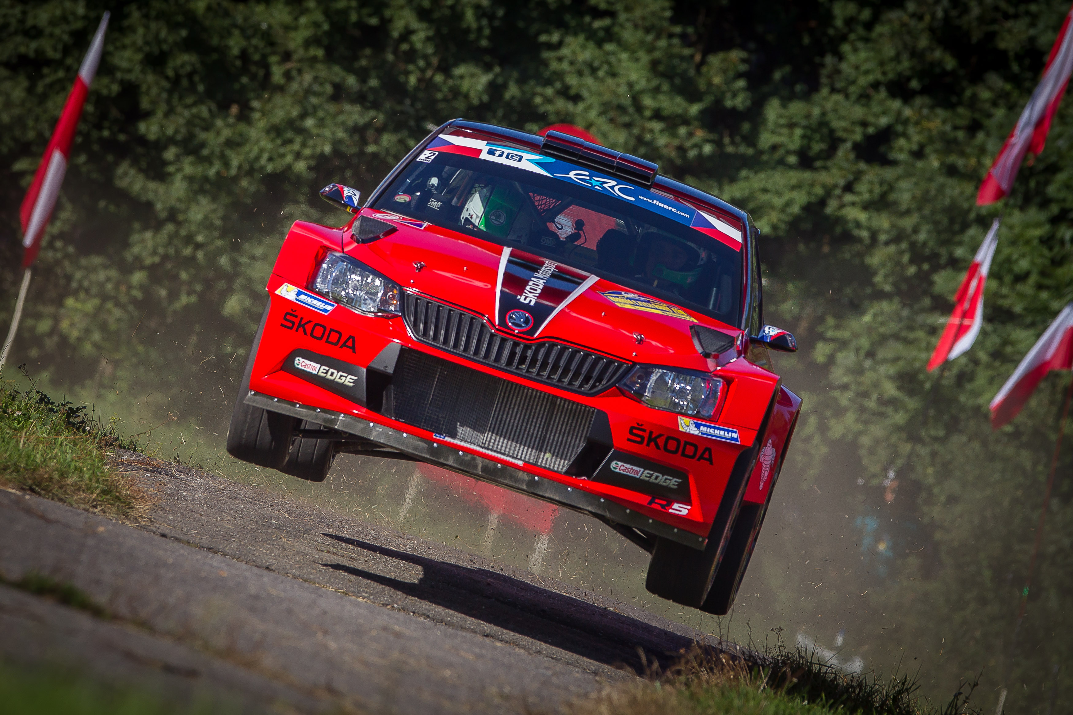 Jan Kopecký na Barum Czech Rally Zlín 2016