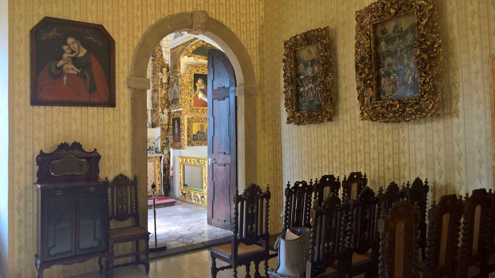 Unikátní barokní kaple na zámku Doudleby nad Orlicí