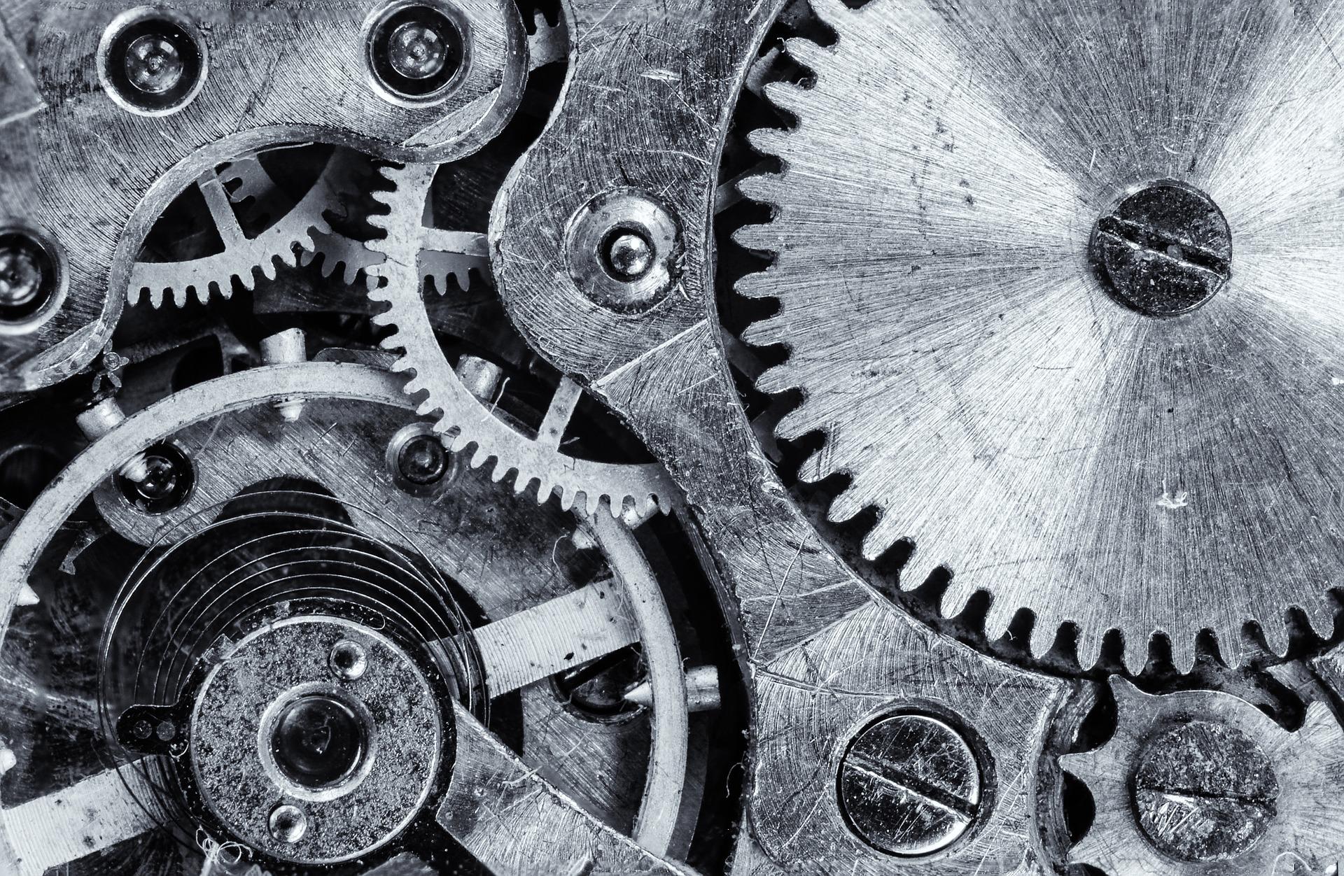 Hodinový stroj (ilustrační foto)