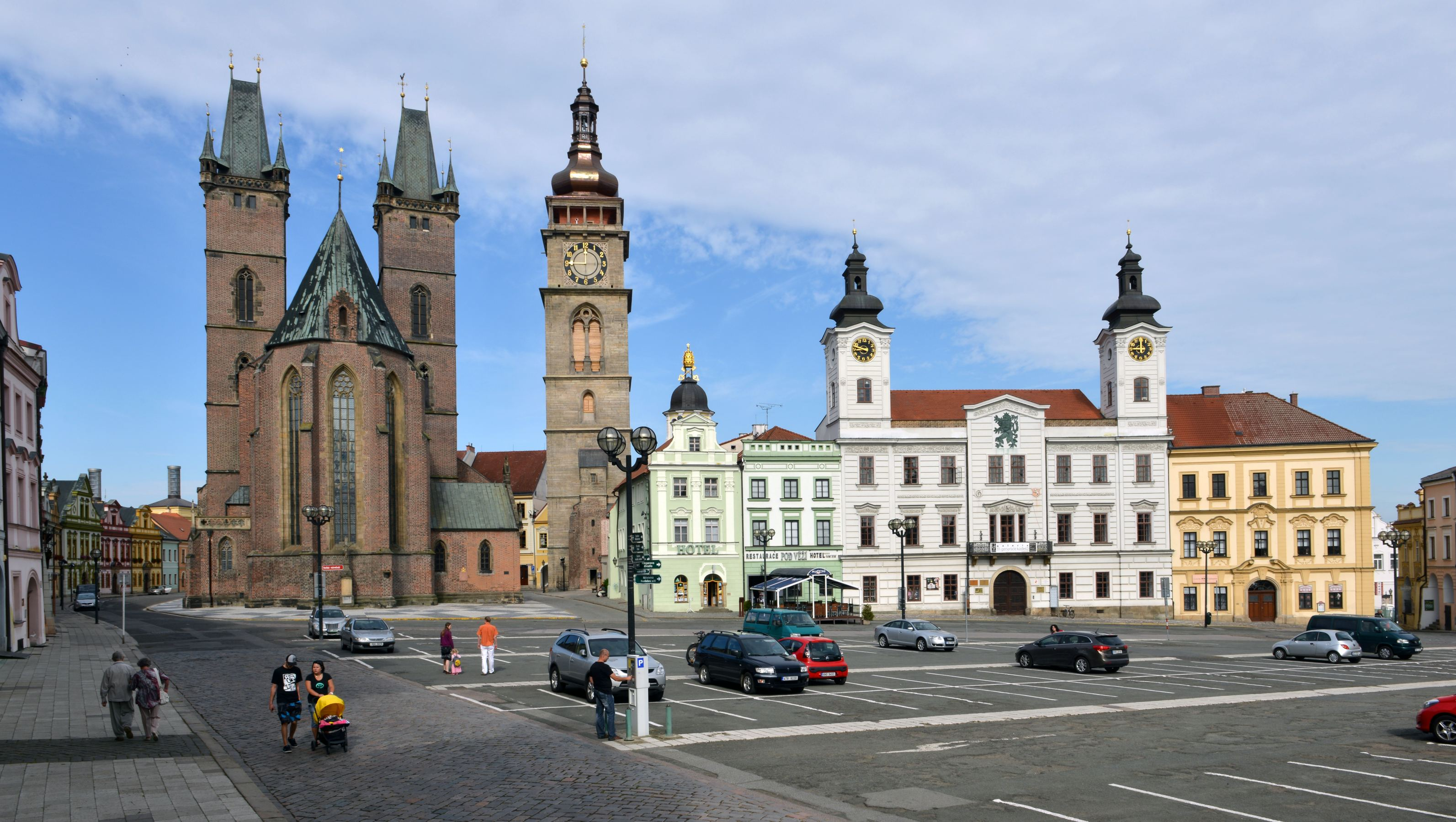 Centrum královského věnného města Hradec Králové