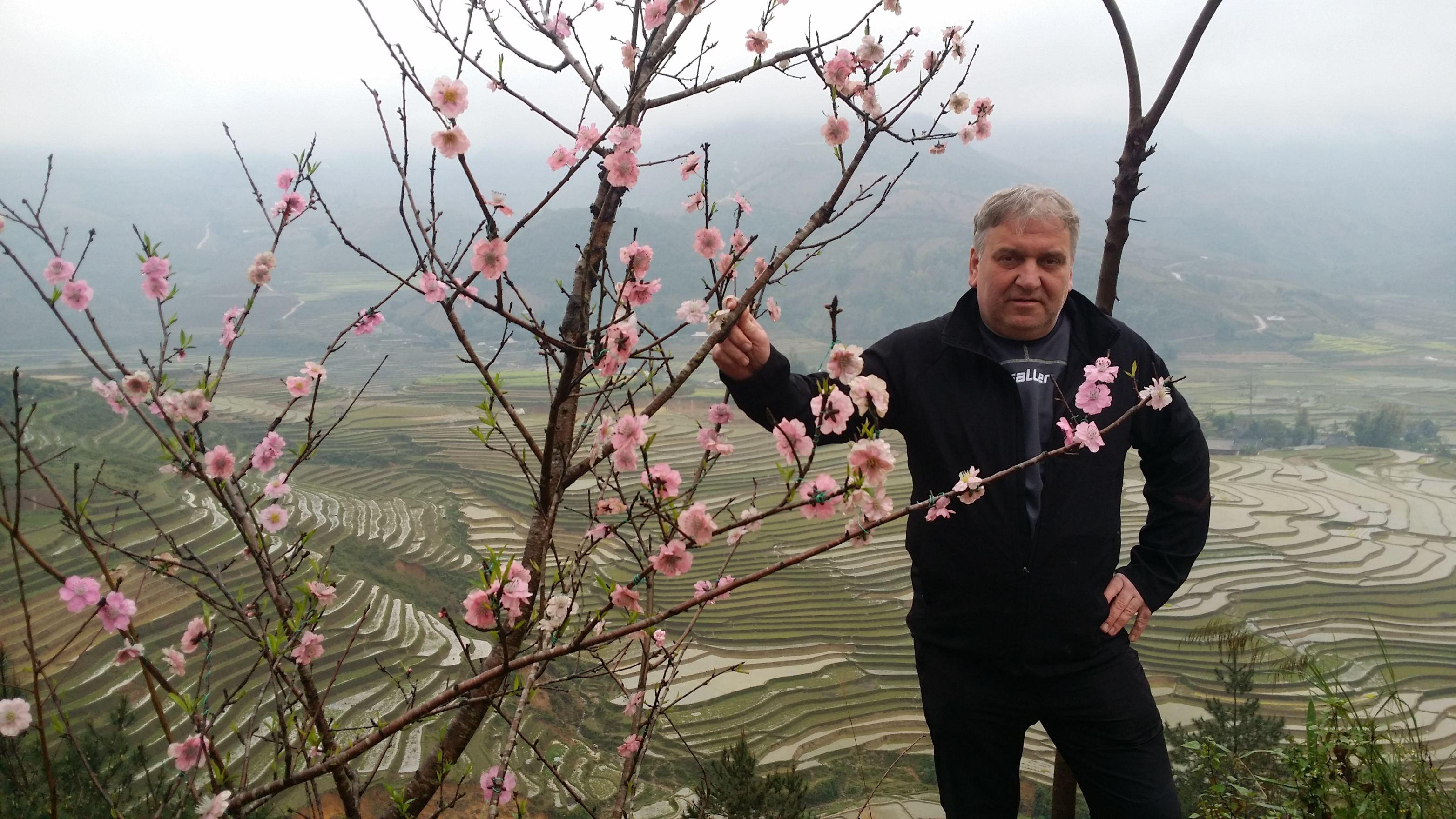 Milan Bureš ve Vietnamu