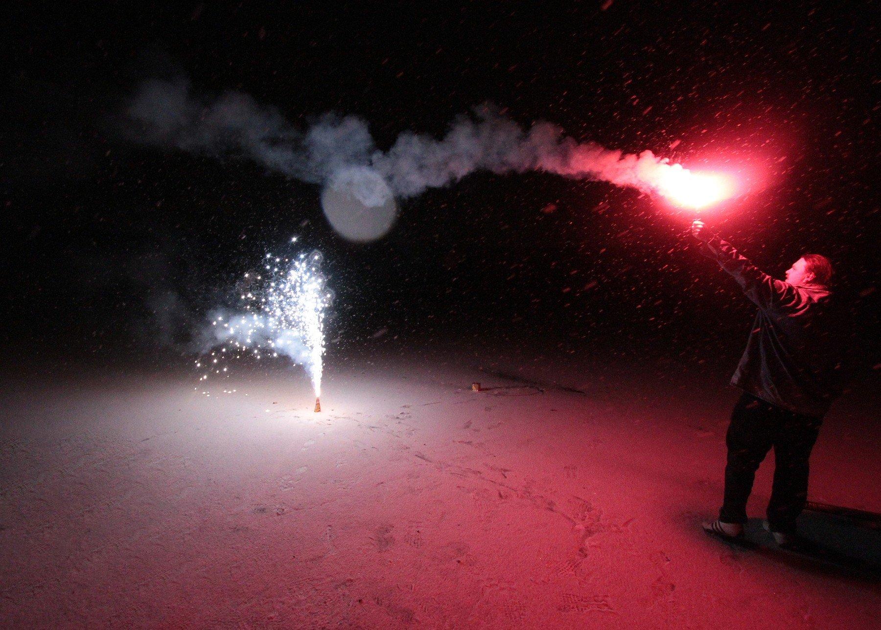 K oslavě Nového roku patří i zábavní pyrotechnika