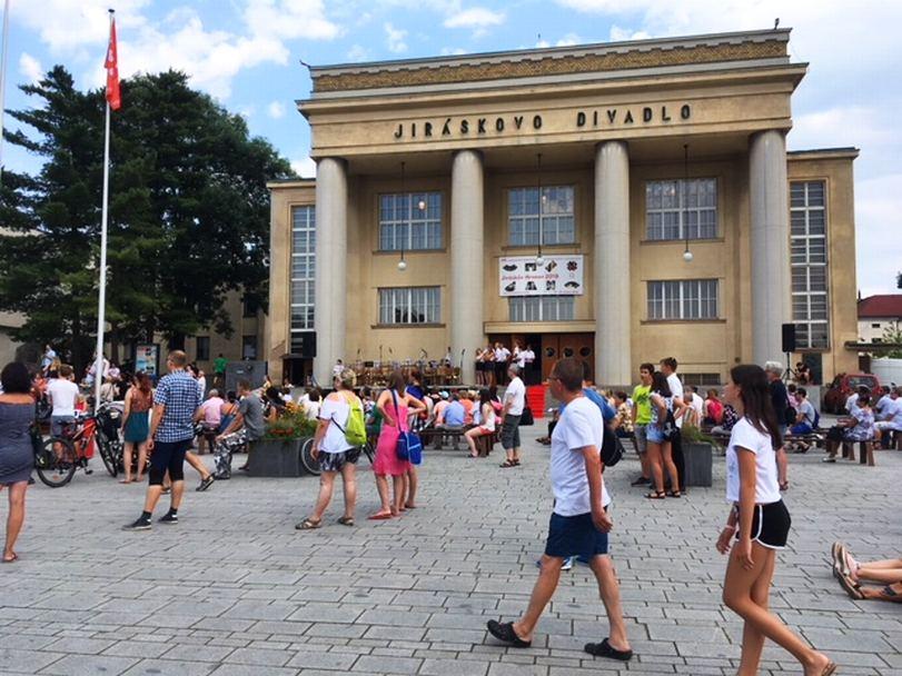 Slavnostní zahájení festivalu Jiráskův Hronov