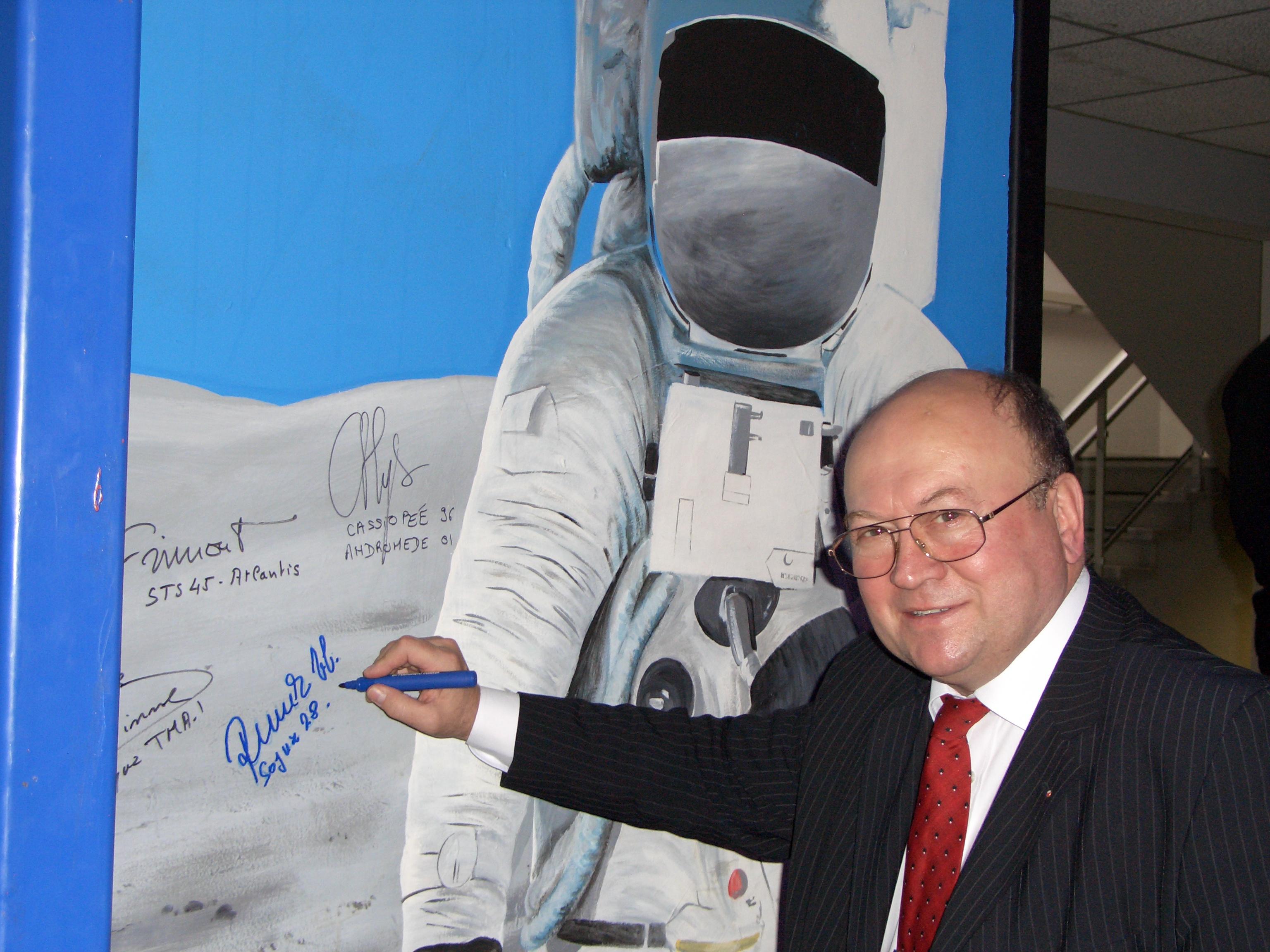 Vladimír Remek, první evropský kosmonaut