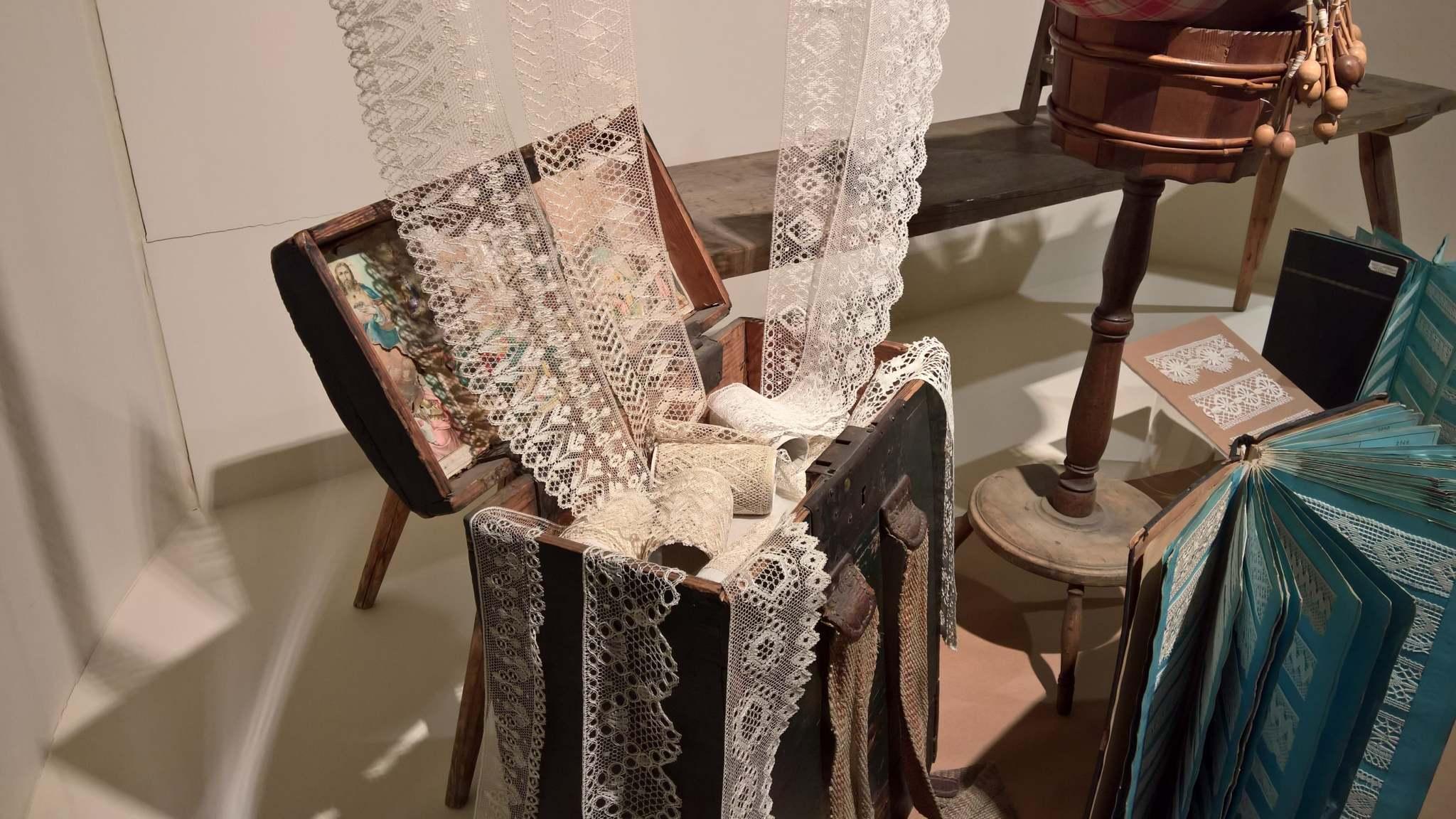 Muzeum krajky ve Vamberku vám představí historii ručně paličkové krajky na Podorlicku