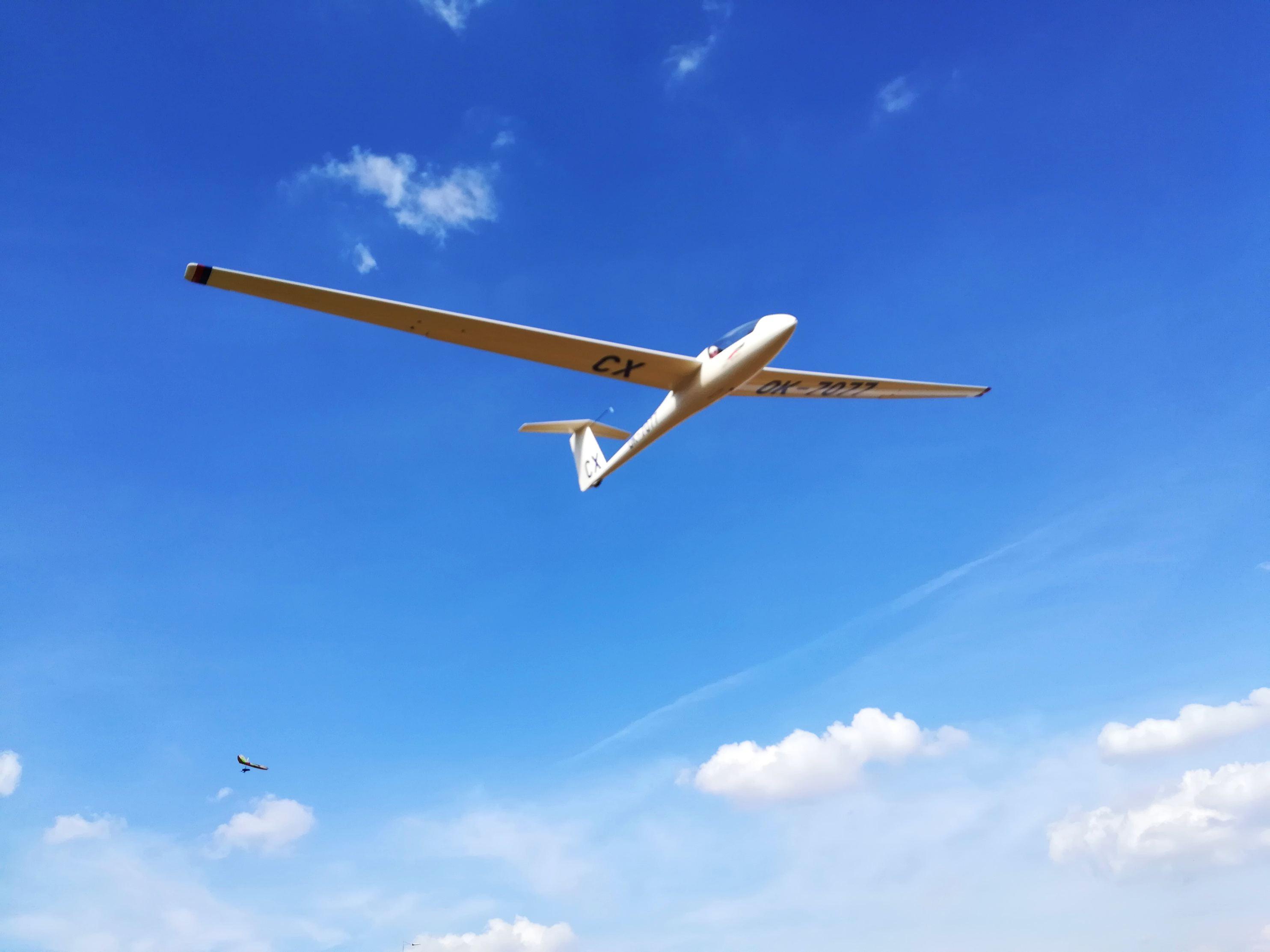 Bezmotorové létání, to je vášeň Jaromíra Macouna