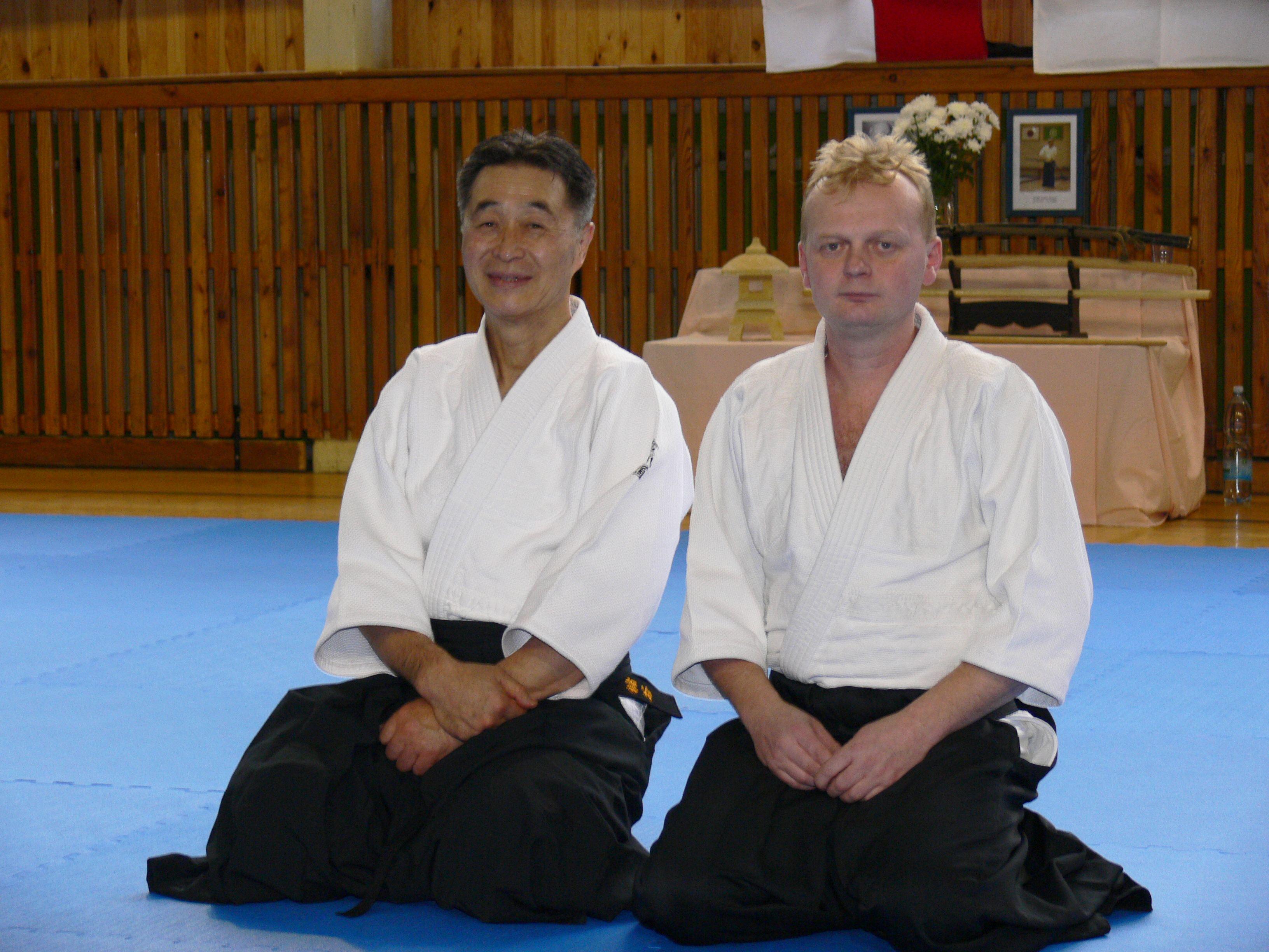 Ushiro Shishiya a Jaroslav Bitarovec
