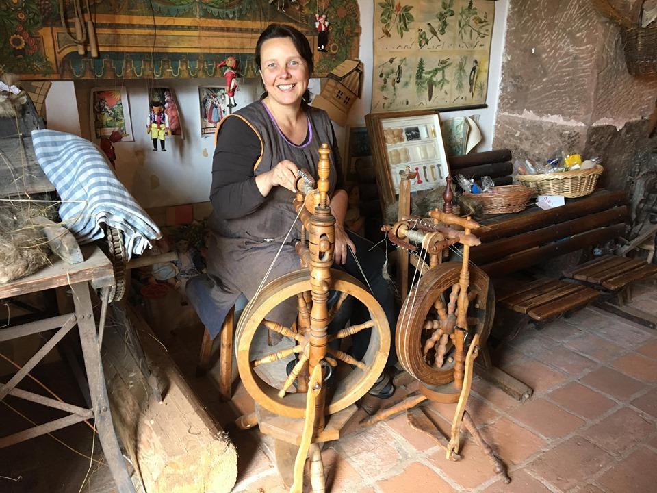 Muzeum tkalcovství v trutnovském Domě pod jasanem