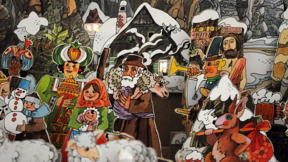 Tradiční vánoční výstava v muzeu v Úpici