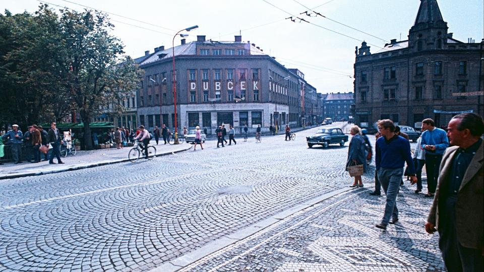 Srpen 1968 v Hradci Králové - Havlíčkova ulice