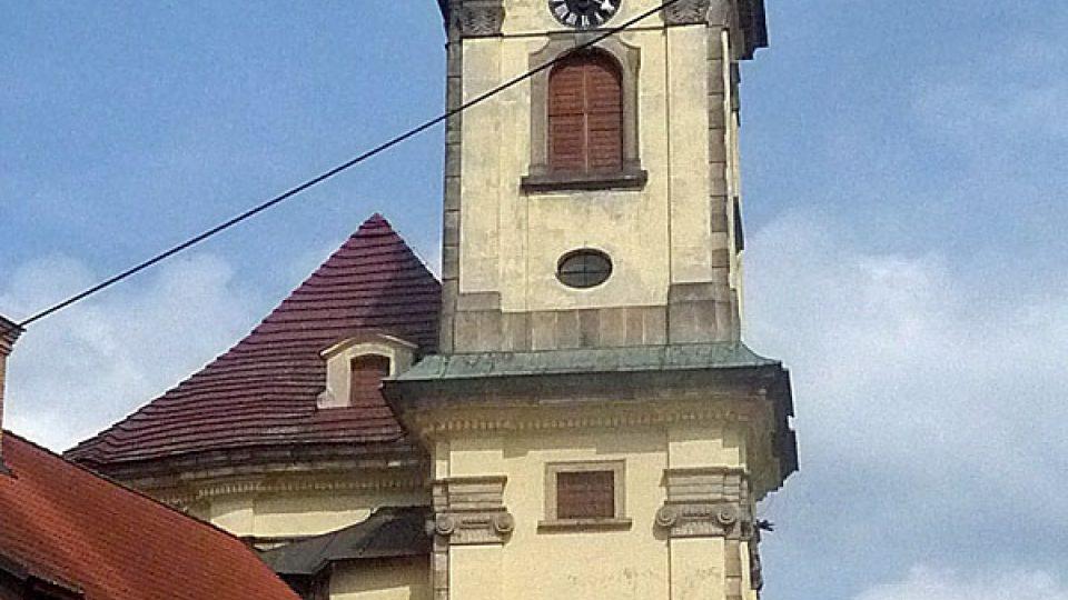 Věž kaple Zjevení Páně