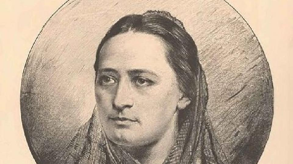 Jan Vilímek: Portrét Boženy Němcové