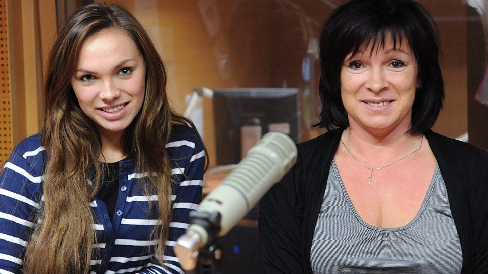 Kamila Nývltová s maminkou Ivetou