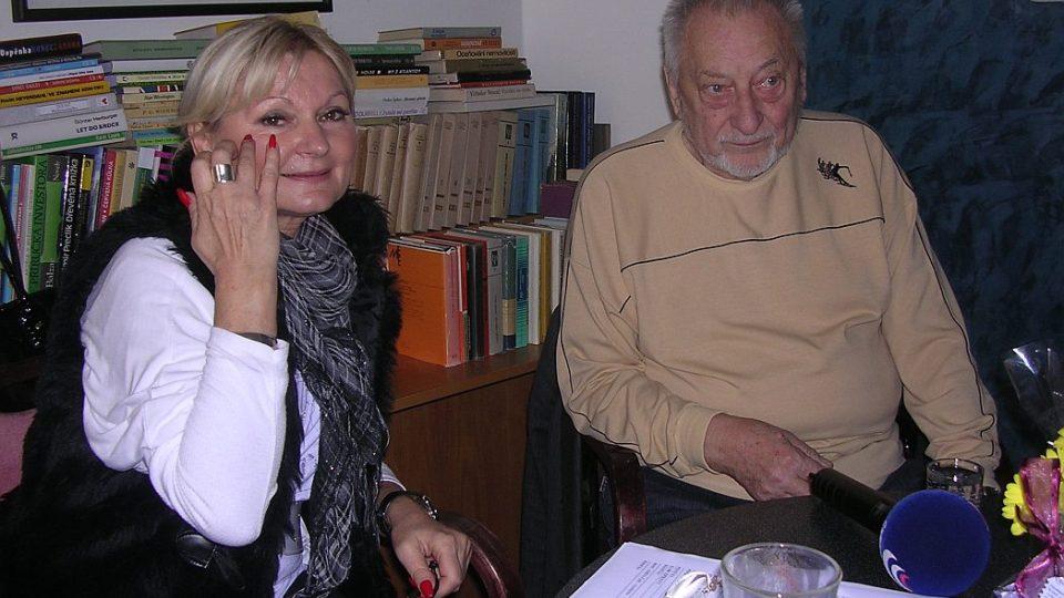 Jan Petránek - legenda české žurnalistiky - v Radioklubu Českého rozhlasu Hradec Králové