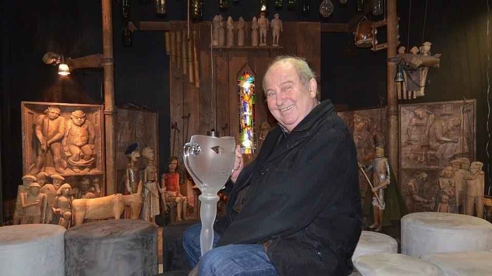 Josef Krofta, držitel ceny Thálie, výročního ocenění herecké asociace