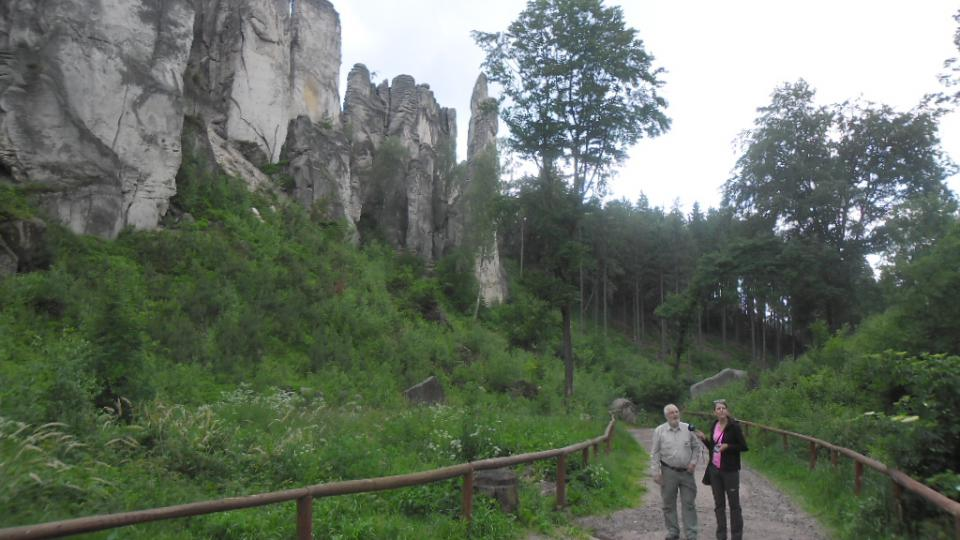 Na procházce Prachovskými skalami
