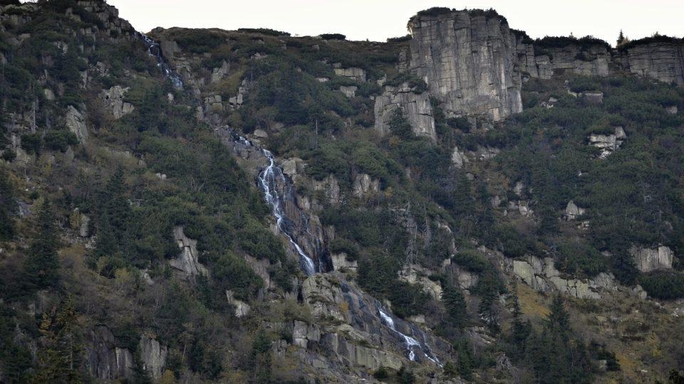 Nejvyšší vodopád v ČR