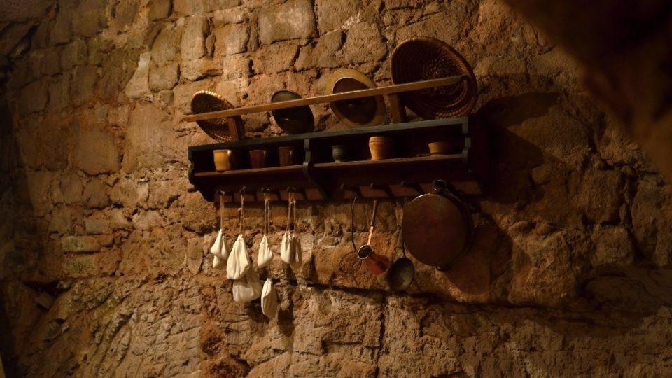 Renesanční kuchyně a sklepení