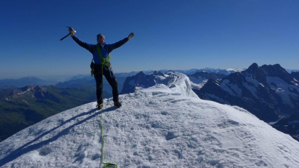 Fotografie z práce horského vůdce Viktora Kořízka