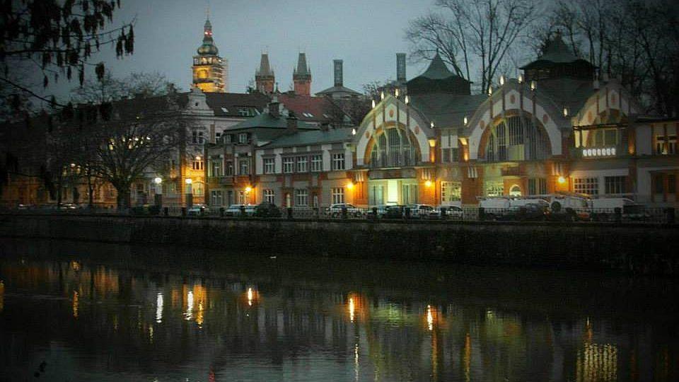 Elektrárna Hučák v Hradci Králové