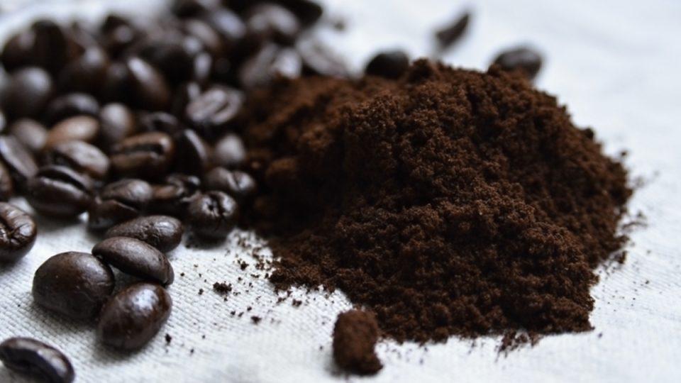 Jemně namletá káva