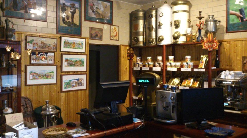 Minimuzeum kávy Frolík v Borohrádku