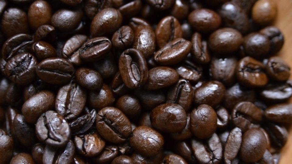 Zrnka kávy