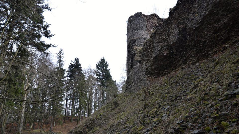 Kdysi prý byl nedobytný - hrad Frymburk