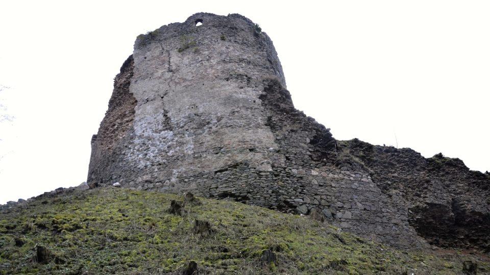 Unikátní hradní věž - Frymburk