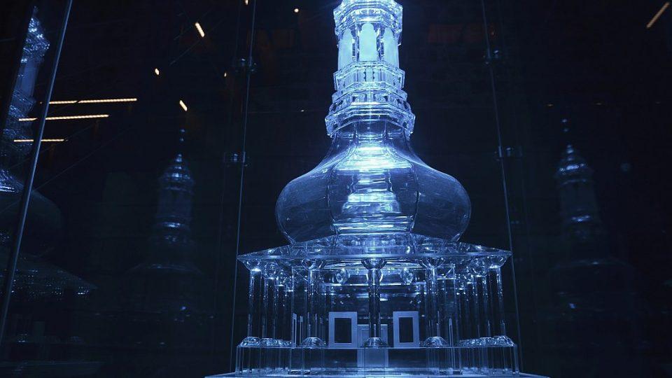 Model Bílé věže ze skla,