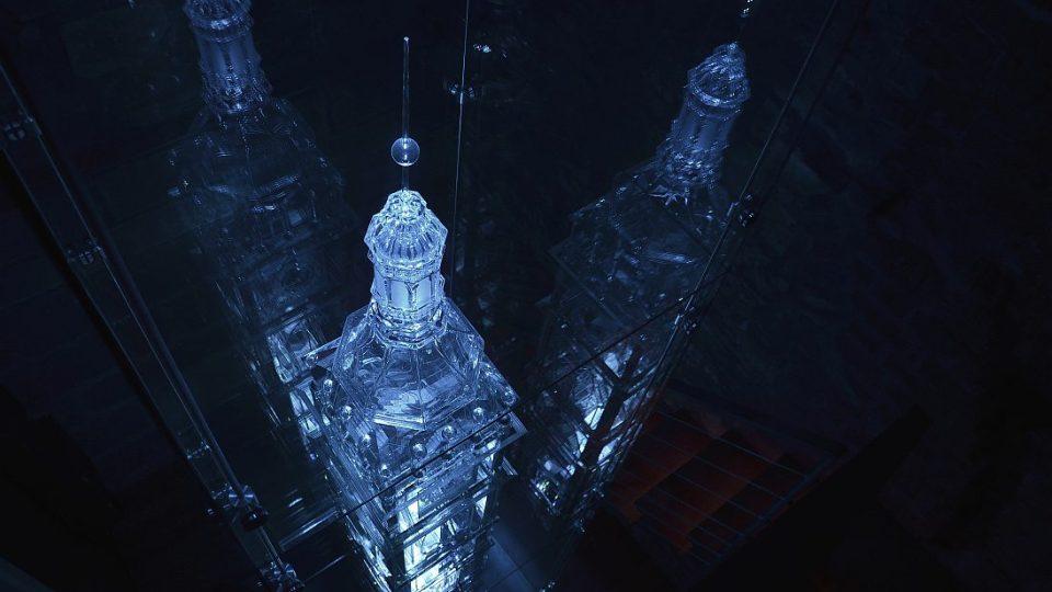 Skleněný model Bílé věže