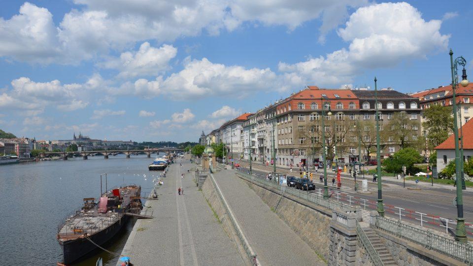 Podskalí v Praze