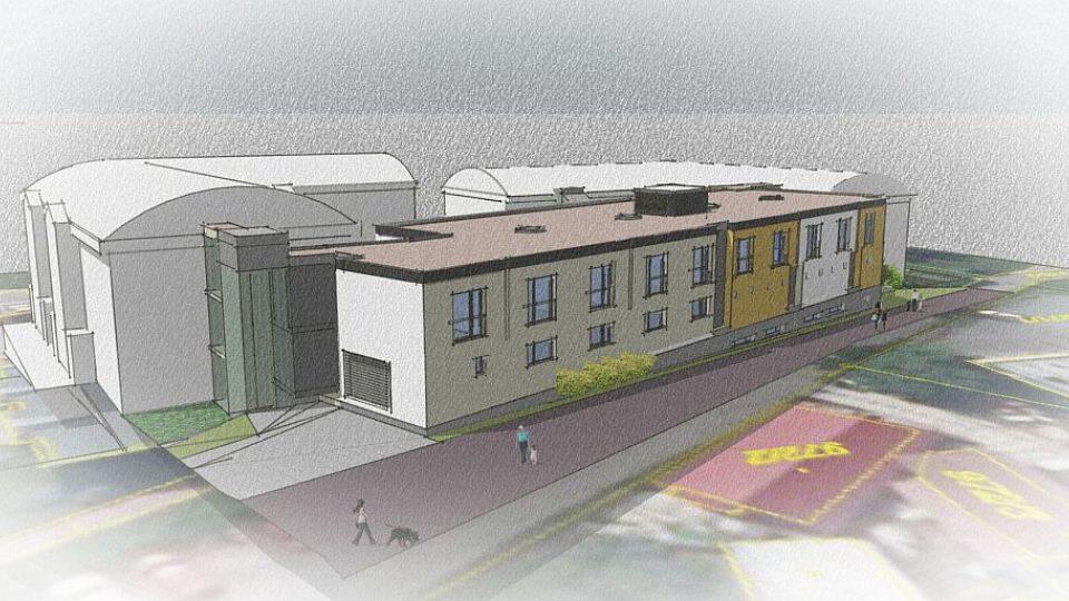 Vizualizace nového domova pro seniory v Rychnově nad Kněžnou