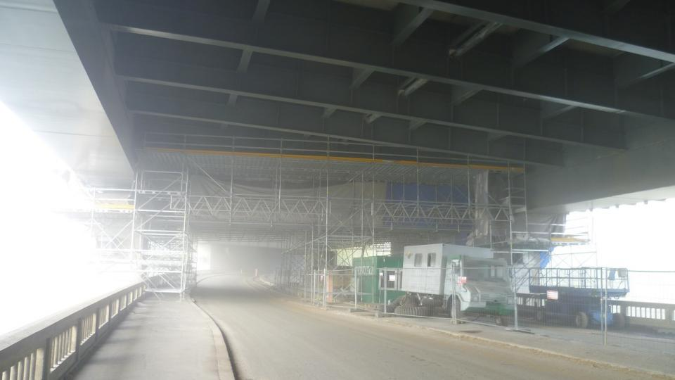 Oprava dálnice zahrnula i Vojslavický most