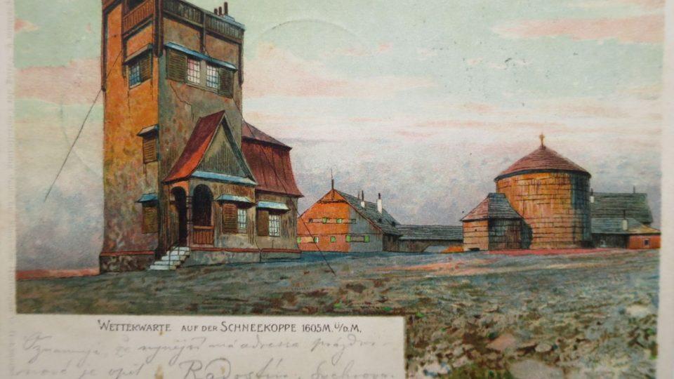 Poklady ze sbírky pohlednic Jaroslava Drtiny