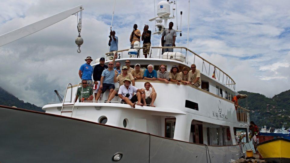 Kameraman a režisér Petr Kašpar - projekt Aldabra