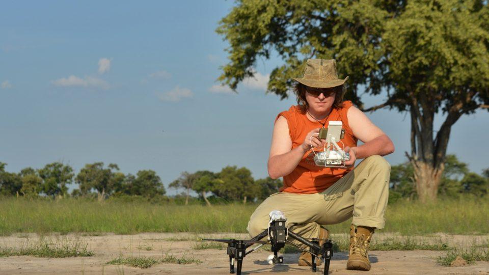 Kameraman a režisér Petr Kašpar - projekt Predátor - Kalahari
