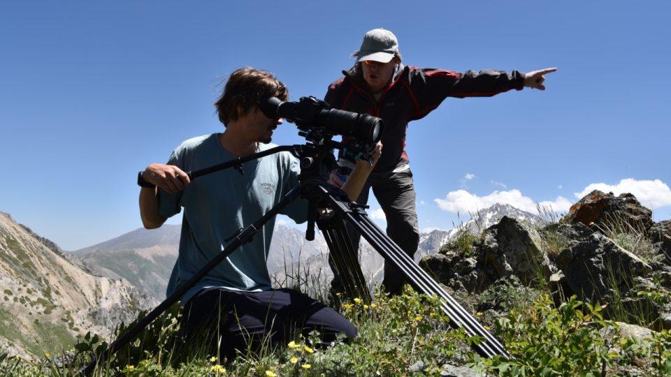 Kameraman a režisér Petr Kašpar - projekt Predátor - Kazachstán